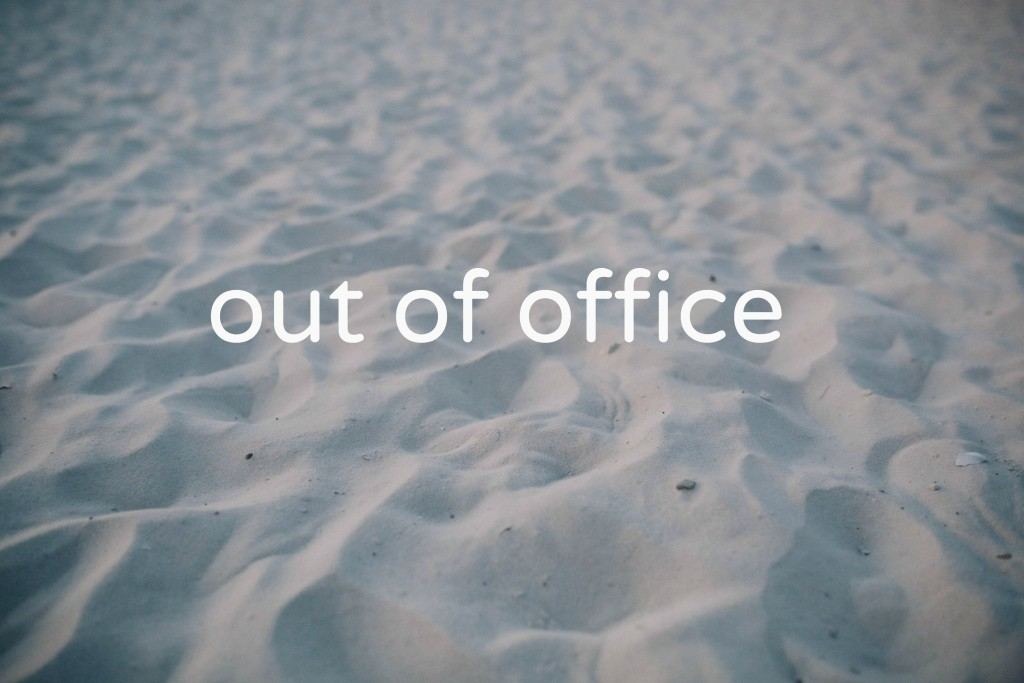how to set out of office in webmail