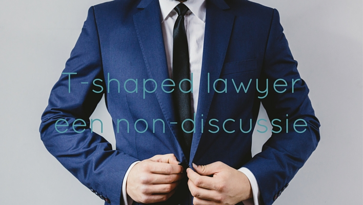 T-shaped lawyer een non-discussie